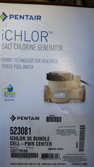 ICHLOR Salt system for Sale in Brandon, FL