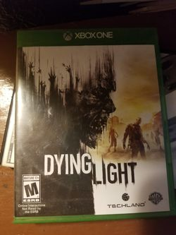Xbox one dying light for Sale in Prineville,  OR