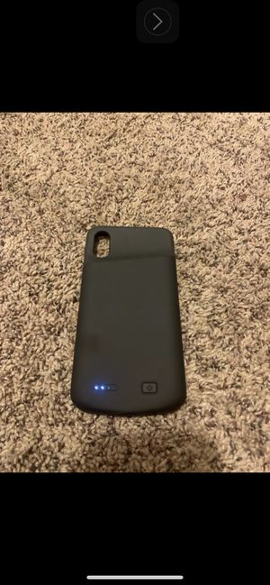 Battery Case for iPhone X / XS for Sale in San Bernardino, CA