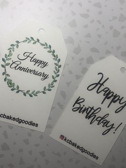 Custom Gift Tags for Sale in Norwalk,  CA