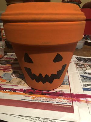 Jack olantern candy dish for Sale in Glendale, AZ