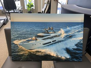 Canvas yacht print for Sale in Seattle, WA