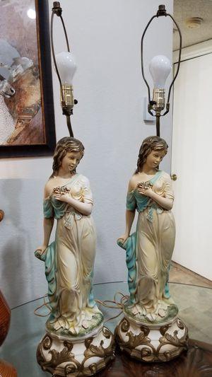 Antique italian lamps set. for Sale in Pompano Beach, FL
