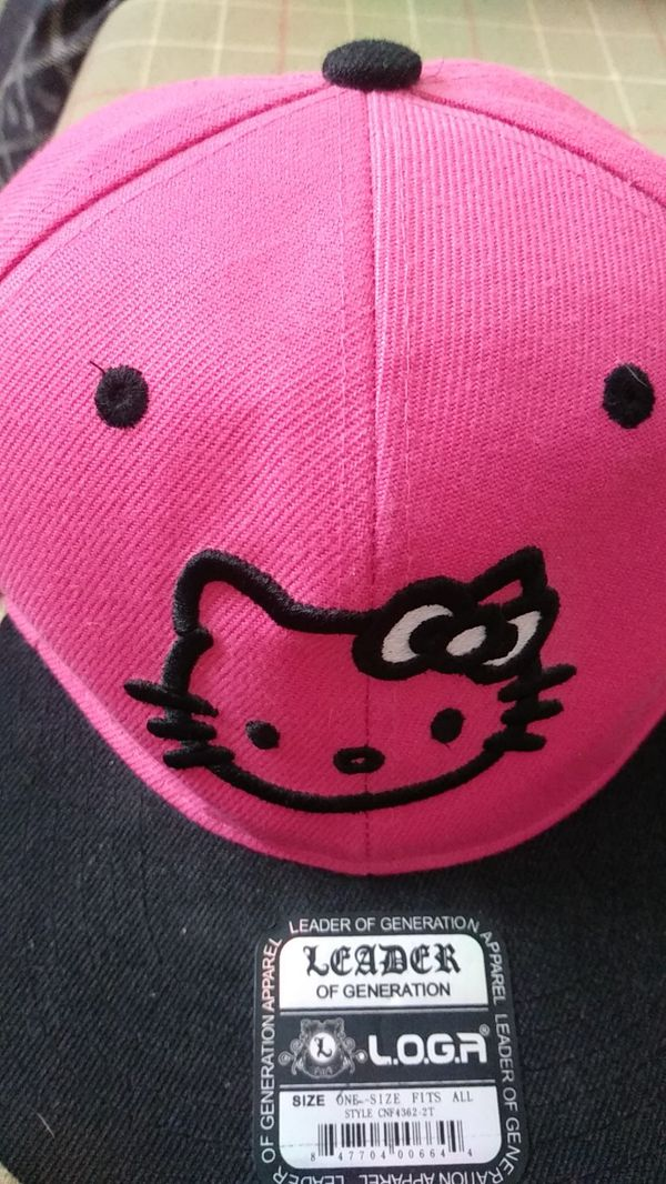 Hello kitty hat one size fits all