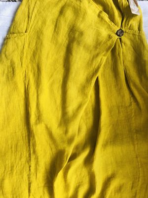 Italian Yellow Long Skirt for Sale in North Bay Village, FL