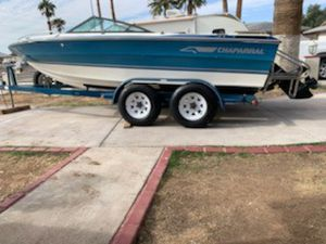 1989 chaparral fish and ski boat for Sale in Phoenix, AZ