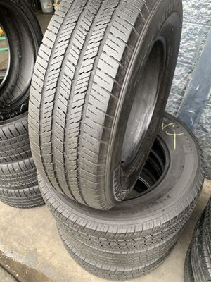 245/70/17 set of Michelin tires installed for Sale in Rancho Cucamonga, CA