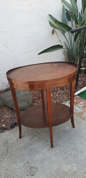 Antique wooden end table for Sale in Fresno, CA