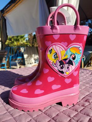 $15 MY LITTLE PONY BOOTS SIZE 5 for Sale in Las Vegas, NV