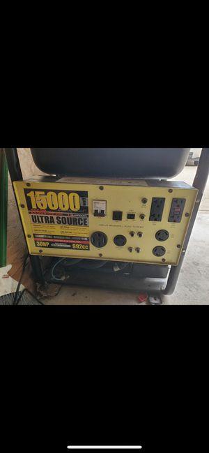15,000 Watt Generator for Sale in Pasadena, TX