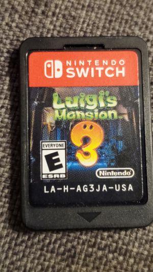 Nintendo Switch Luigi's Mansion 3 for Sale in Santa Ana, CA