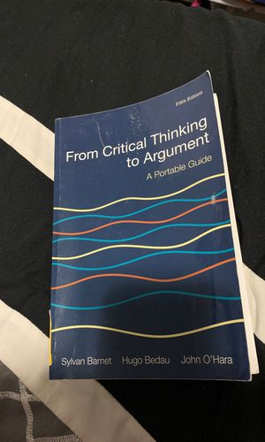 From critical thinking to argument for Sale in Springfield, VA