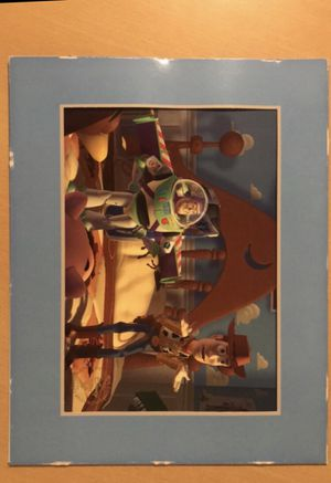 Disney's Toy Story Exclusive Commemorative Lithograph- 1996 for Sale in Beaufort, SC