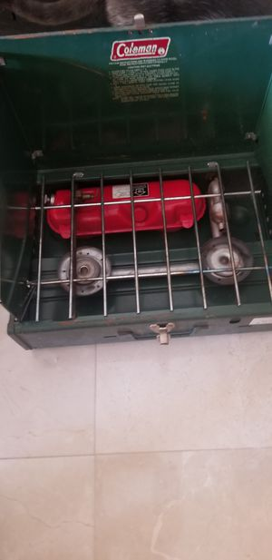 Coleman camping stove and sleeping bag for Sale in Wellington, FL