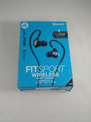 Jlab Audio Fit Sport Wireless Fitness Gym Earbuds Bluetooth Black for Sale in Federal Way, WA