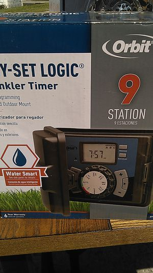 Orbit easy set logic sprinkler timer for Sale in Winter Garden, FL