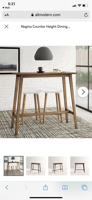 Modern High Top Table/ Standing Desk/ Entryway Table for Sale in Chicago, IL