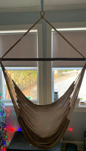 Swinging Hammock Chair (with springs) for Sale in Glenolden, PA