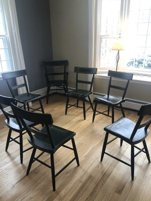 Antique railway chairs for Sale in Easton, CT