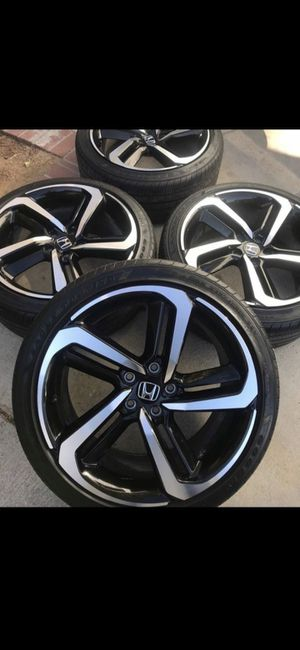 """19"""" accord Sport wheels and tires for Sale in Plainville, CT"""