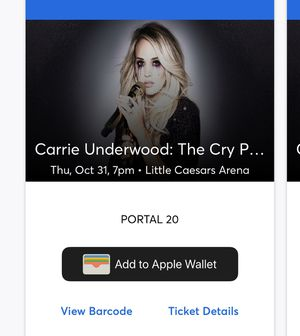 Carrie Underwood Tickets for Sale in Waterford Township, MI