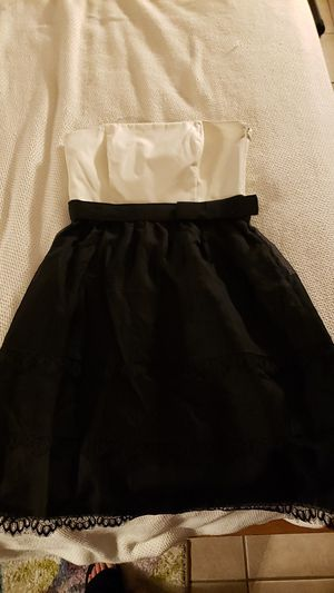White house black market strapless dress for Sale in Trinity, FL