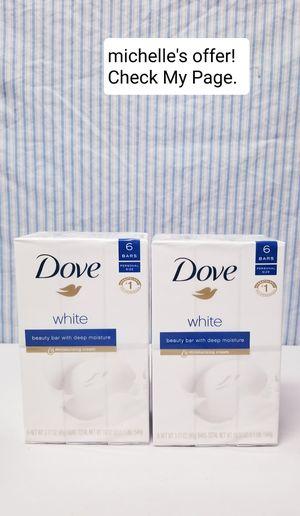 Dove beauty bar/ Deep moisture 6ct set for Sale in Fort Washington, MD