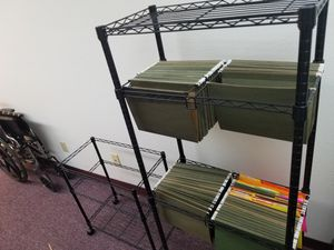 Hanging folder racks for Sale in Tumwater, WA