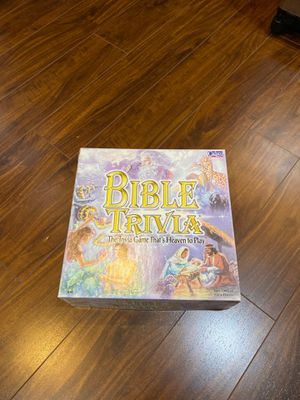 Bible Trivia Board Game for Sale in Clackamas, OR