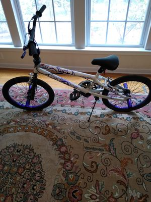 20 inch Avigo rip tide bmx bike by Next for girls for Sale in Cary, NC