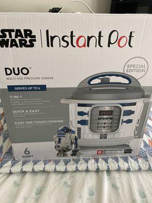 Star Wars Williams Sonoma Instant Pot R2D2 for Sale in BVL, FL