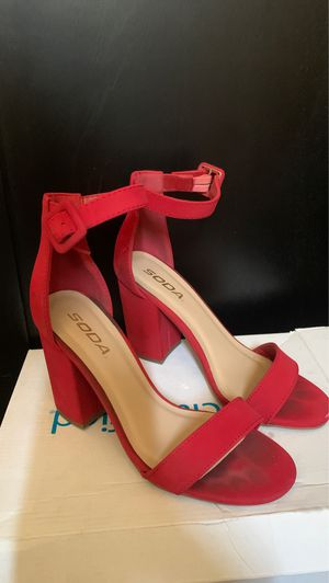 Super cute Red Heel size 6 1/2 for Sale in Imperial Beach, CA