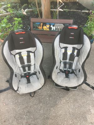 Twin seats Britax Marathon PLUS Convertible Car Seats (2 available) $70 for both! Or $40 each Carseat Car seat for Sale in Leander, TX