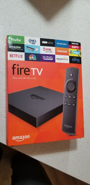 Amazon fire TV 4k ultra HD for Sale in Tampa, FL