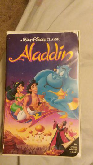 Walt Disney Black Diamond addition Origanal Aladdin VHS for Sale in Victor, MT