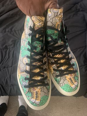 Gucci high top size 9 USA 10-10.5 for Sale in San Diego, CA
