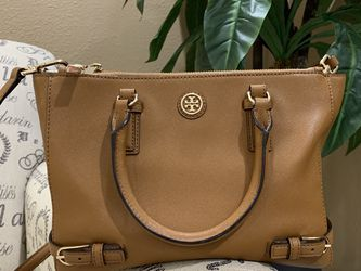 Tory Burch Saffiano Double Zip Tote Bag for Sale in Huntington Beach,  CA