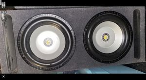 """12"""" GRAVITY SUBS/SUBWOOFERS/PORTED BOX/ENCLOSURE!1200 WATTS DVC!SLAPS HARD!! for Sale in Manteca, CA"""