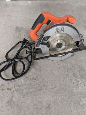 Black & Decker Circular Saw for Sale in Cedar Park, TX
