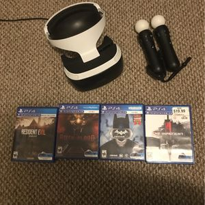 Ps Vr With Ps Vr Sticks for Sale in Shelton, CT