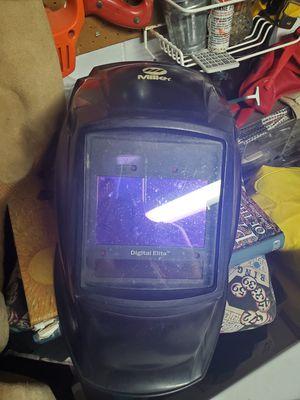 Miller digital elite welder shield mask helmet for Sale in Tampa, FL