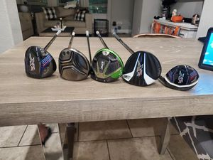 CALLAWAY GOLF CLUB DRIVERS AND WOODS CALLAWAY SUPER NICE CLUBS!! for Sale in Frisco, TX