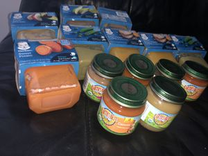 20 Baby food gerber earths best organic NO FREE for Sale in Hollywood, FL