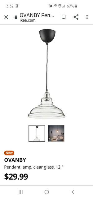 Ikea hanging light for Sale in Salt Lake City, UT