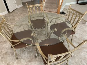 Kitchen table with 4 chairs for Sale in Springfield, VA