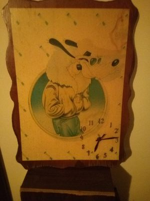 Goofy picture/clock for Sale in Loretto, PA