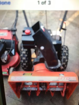 Snowblowers/MTD SEARS AND NOMA for Sale in Lemont, IL