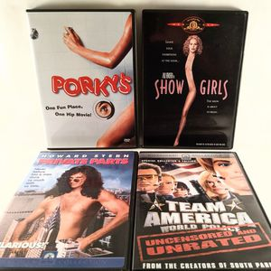 Adult Comedy DVD Four Pack for Sale in Smithville, MO
