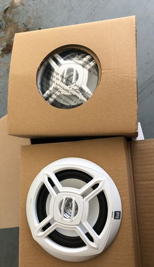 Boat speakers DUAL pair for Sale in Tampa, FL