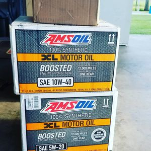 All AMSOIL lubricants for vehicles, outboard and inboard boats, utv and atv's, small engine oil, vehicle oil, filters, octane booster for Sale in Dickinson, TX